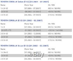 Toyota Corolla E12 right brake disc shield dust cover anchor plate 46503-02030