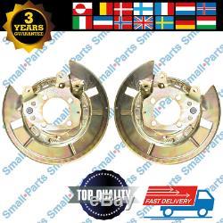 Toyota Corolla Verso Hinten Bremsscheibe Ankerplatte Links Recht