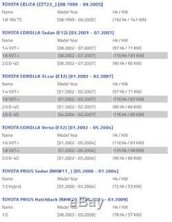 Toyota Prius Corolla Verso Celica left brake disc shield dust cover anchor plate