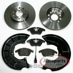 VW Passat Alltrack Brake Discs Brake Brake Pads 2 Spritzbleche for Front