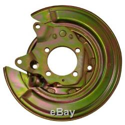 X2 Toyota Corolla diesel E12 left and right brake disc shield anchor plate cover