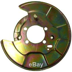 X2 Toyota RAV4 III and IIII left and right brake disc shield anchor plate cover