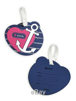 Zuca Sport Bag ANCHOR MY HEART with GIFT Lunchbox and Seat Cover (Pink Frame)