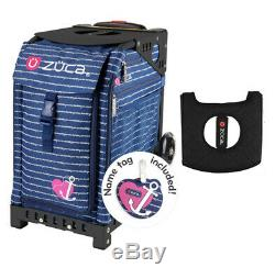 Zuca Sport Bag Anchor my Heart with Gift Black/Pink Seat Cover Black Non-Fla