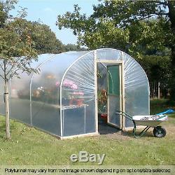 10ft Poly Large Tunnels Royaume-uni Jardin De La Maison Polytunnel Emballages Plastiques Pièces De Rechange