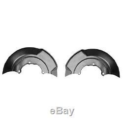 10x2x Plaque D'ancrage Couverture Splash Plate Pour Roue Avant Disque De Frein Anchor Pl P1v4