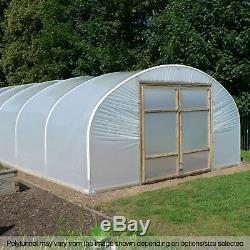 16ft Poly Large Tunnels Commercial Jardin Polytunnel Emballages Plastiques Pièces De Rechange