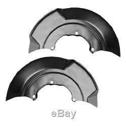 20x2x Plaque D'ancrage Couverture Splash Plate Pour Roue Avant Disque De Frein Anchor Pl G1b9