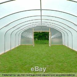 22ft Grand Tunnels Jardin Commercial Au Royaume-uni Polytunnel Plastique Polythène Covers