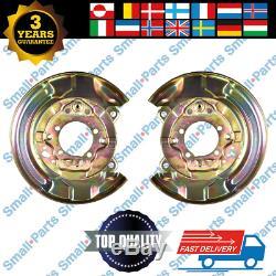 2x Toyota Avensis Hinten Bremsscheibe Ankerplatte Liens Recht
