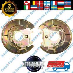 2x Toyota Rav II 00-05 Hinten Bremsscheibe Ankerplatte Liens Recht