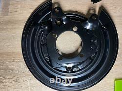 2xtoyota Corolla E10, E11, E12left Plaque D'ancrage De Bouclier De Disque De Frein Droit