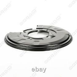 4x Ankerblech Bremsscheibe Set Vorne Hinten Für Bmw 3er E46 325i 330d CD CI 330i