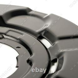 4x Ankerblech Bremsscheibe Set Vorne Hinten Für Bmw 3er E90 E91 E92 E93