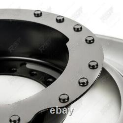 4x Bremsankerblech Schutzblech Set Vorne Hinten Für Bmw 3er E36 Compact Z3