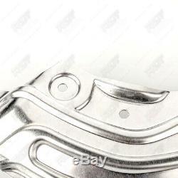4x Bremsblech Spritzblech Vorne Hinten Für Bmw 2 Cabrio Coupe F22 F23 Bis 09/15