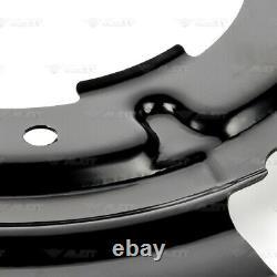 4x Deckblech Ankerblech Bremsscheibe Vorne Hinten Für Bmw 3er E90 E91 E92 E93