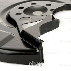 4x Deckblech Bremsscheibe Set Vorne Hinten Für Vw Golf III Cabrio Jetta Vento 1h