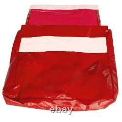 50 Lb 10 Red Vinyl Sand Bag Covers Anchor Canopy Tents Inflatable Bounce Houses
