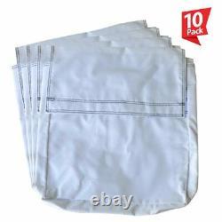 50 Lb 10 Sac En Vinyle Blanc Sable Couverture Anchor Canopy Tentes Gonflables Bounce Maisons