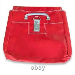 50 Lb 4 Red Vinyl Sand Bag Covers Anchor Canopy Tents Inflatable Bounce Houses