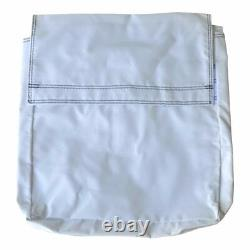 50 Lb 4 White Vinyl Sand Bag Cover Anchor Canopy Tents Inflatable Bounce Houses
