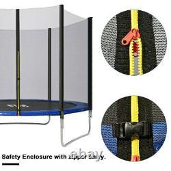 6ft8ft10ft12ft14ft Trampoline Safe Net Spring Cover Ladder Anchor Jumping Sheet