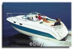 7oz Boat Cover Rinker 250 Fiesta Vee Avec Anchor Davit Witho Swpf 02-05