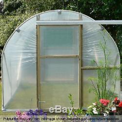 8ft Larges Poly Tunnels Jardin De La Maison Polytunnels Plastique Polythène Couvertures