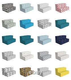 Ambesonne Modern Hr Foam Portable Mattress & Fabric Cover En 3 Tailles