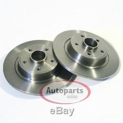 Audi A4 B5 Disques De Frein Plaquettes De Roulement De Roue Arrière Pour Spritzbleche