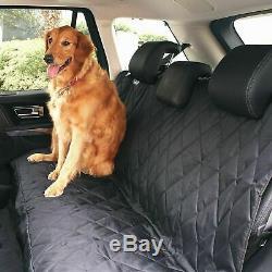 Barksbar Luxe Pet Siège Auto Couverture Avec Des Ancrages De Siège Pour Voitures, Camions Et Véhicules Utilitaires Sport