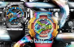 Casio Rainbow G-shock Metal Covered Gm-110rb-2ajf Men's Watch New Fedex From Jp