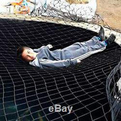 Étang De Jardin Couverture Child Safety Net Épais Tissé + Netting Lourds Kits D'ancrage