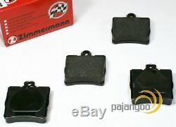 Mercedes Clk C209 Zimmermann Brake Kit Logs Spritzbleche Pour Arrière