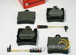 Mercedes Clk C209 Zimmermann Disques De Frein Arrière Pour Spritzbleche Pads