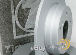 Mercedes Clk C209 Zimmermann Disques Plaquettes De Frein Arrière Pour Spritzbleche