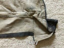 Mgb 1971-1980 Cabriolet Top Boot Cover Withseat Belt Anchor Used (like New) Oem
