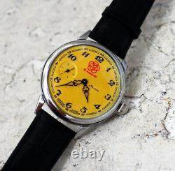 Nouveau Vintage Watch Molniya 3602 Soviet Urss Mécanique Couverture Verre Festival De La Jeunesse