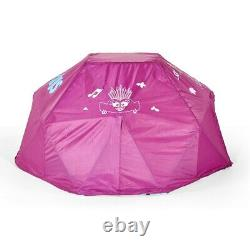 Plum Metal Climbing Frame Dome Trolls 3 Ans + Polyester Cover + Ancres
