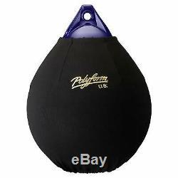 Polyform Us Efc-a6 Fender Cover, Noir (fits 34 Pouces Diam. A6 Buoy) 60842692