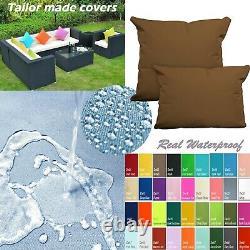 Tailor Madecoverprotection De L'eau Canapé Extérieur / Plancher Oreiller Canapé Chaise Patio Dw03