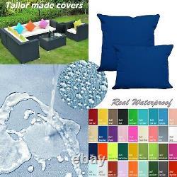 Tailor Madecoverprotection De L'eau Canapé/ Sol Extérieur Oreiller Canapé Chaise Patio Dw15
