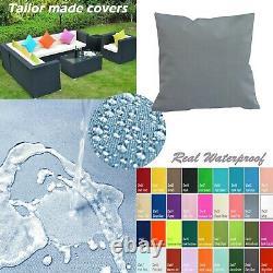 Tailor Madecoverprotection De L'eau Canapé/ Sol Extérieur Oreiller Canapé Chaise Patio Dw23