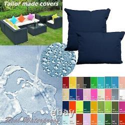Tailor Madecoverprotection De L'eau Canapé/ Sol Extérieur Oreiller Canapé Chaise Patio Dw27