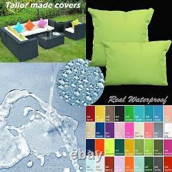 Tailor Madecoverprotection De L'eau Canapé/ Sol Extérieur Oreiller Canapé Chaise Patio Dw44