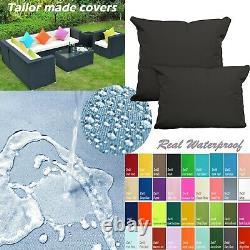 Tailor Madecoverprotection De L'eau Canapé/sol Extérieur Oreiller Canapé Chaise Patio Dw04