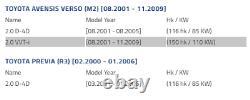 Toyota Avensis Verso Droit Bouclier De Disque De Frein Plaque D'ancrage De Couverture De Frein 46503-28030