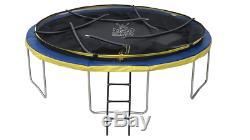 Trampoline10ft Boîtier Net Avec Échelle, Couverture Et Ancre Neuf