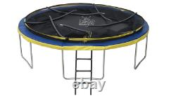 Trampoline10ft Enclosure Net Avec Ladder, Cover & Anchor Flambant Neuf